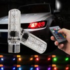 LED Цветни Крушки за Габарити с дистационно