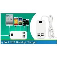 Зарядно Разклонител с 4 USB